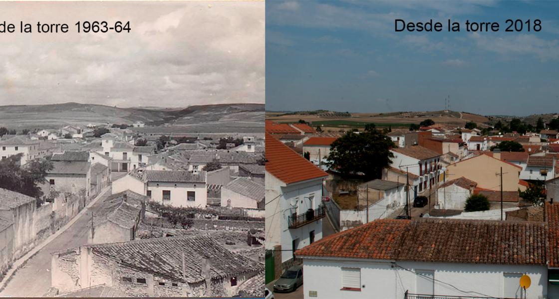 Evolución del casco urbano de Villamanrique de Tajo