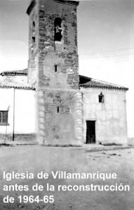 Iglesia de Villamanrique en los años 50_t